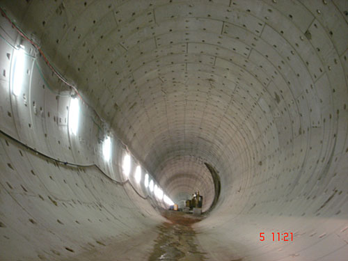Cantanghel idraulic tunnel, access tunnel and main tunnels - Italy