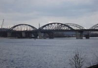 Bridge Monitoring on Dnieper River, Kiev, Ukraine