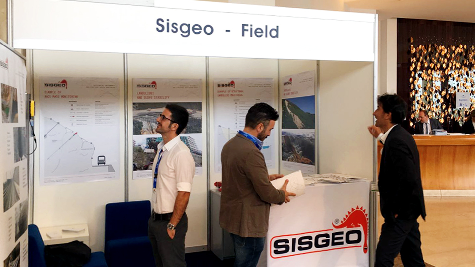 "Sisgeo would like to thanks all the people that reach us last week in Naples during the ""12th International Symposium on Landslides"""