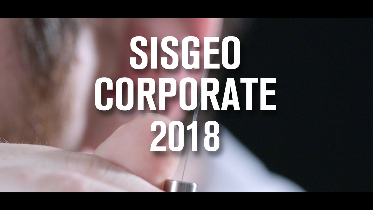 Sisgeo presents its new Corporate video