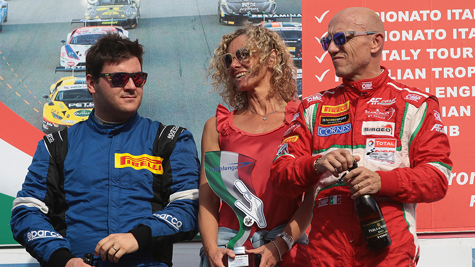 Vallelunga greets Lorenzo Bontempelli with a weekend at the top