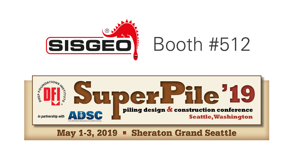 Sisgeo is waiting for you at DFI SuperPile in Seattle, Washington