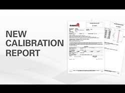 Sisgeo new Calibration Report