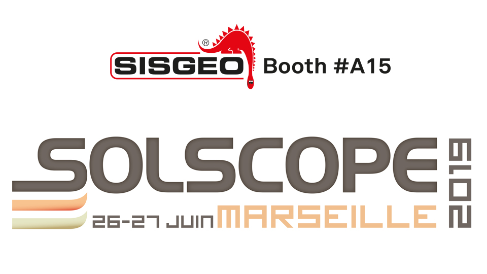 Sisgeo is waiting for you at Solscope in Marseille, France