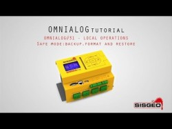 OMNIAlog#31 - LOCAL OPERATION - Safe mode: backup, format and restore