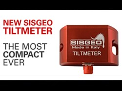 Sisgeo new tiltmeter, the most compact ever!